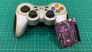 Interfacing Logitech Wireless Gamepad F710 Using Arduino
