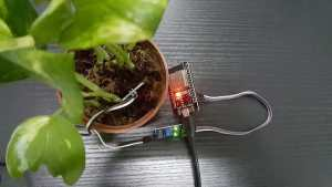 Water Notification for Plants using Blynk and Moisture Sensor on ESP32.