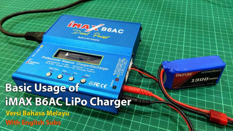 Basic Usage of iMAX B6AC LiPo Charger