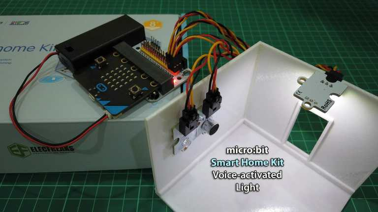 Microbit Smart Home Kit: Voice-activated Lights