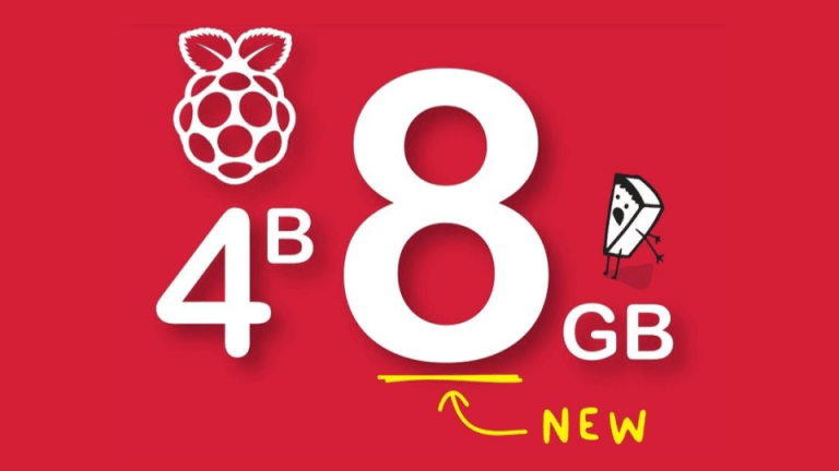 Raspberry Pi 4 Model B Now Has 8GB of RAM