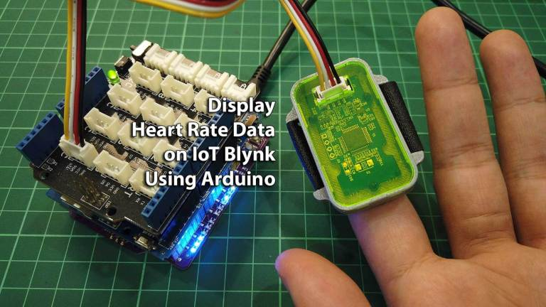 Display Heart Rate Data on IoT Blynk Using Arduino