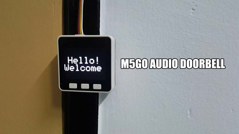 Audio Doorbell Using M5GO IoT Starter Kit