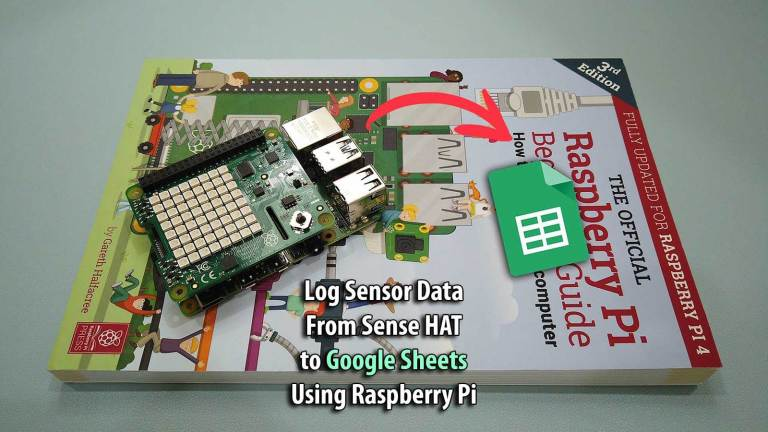 Log Sensor Data from Sense HAT to Google Sheets using Raspberry Pi