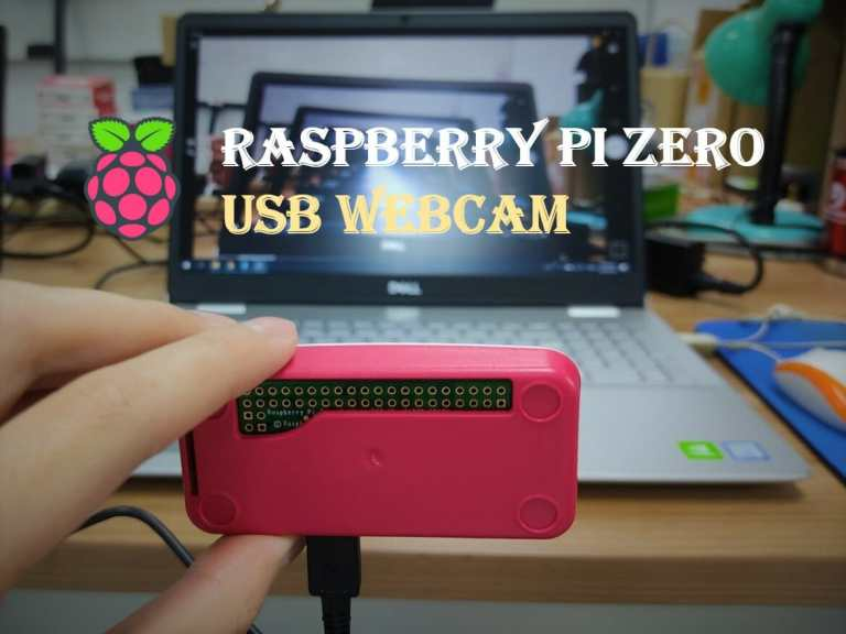 Raspberry Pi Zero USB Webcam