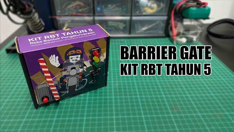 Barrier Gate with RBT Kit Tahun 5