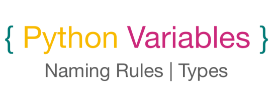 Python Variables Tutorial, Types with example