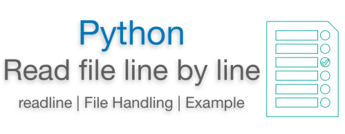 Python Read File Line by Line ReadLine Examples