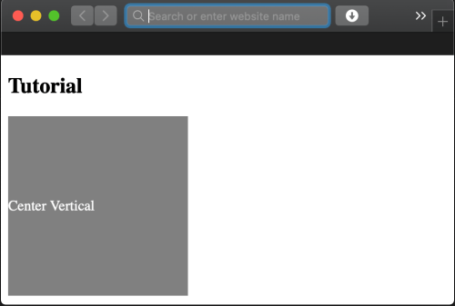 HTML Text Align Center (Vertical | Horizontal)