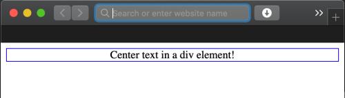 HTML div align Center Top Right