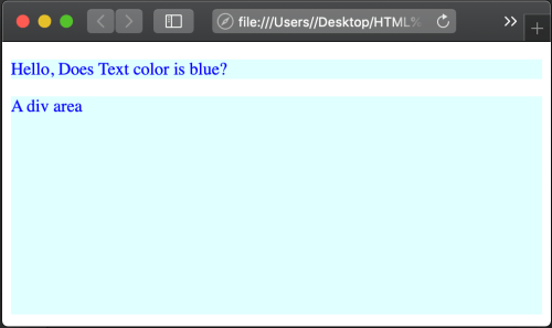 div class css example