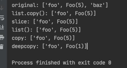 Python list copy Function