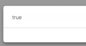 JavaScript includes method