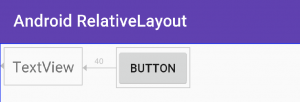 android RelativeLayout layout_alignRight