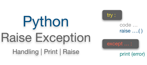 Python raise exception with custom message | Manually