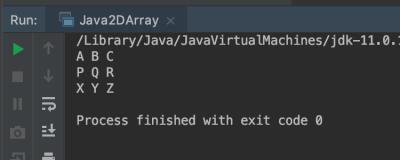 2d Array Java | Multidimensional Array example | Matrix