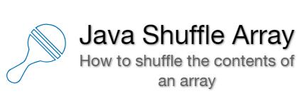 Java Shuffle Array | Random Array Program | Examples - EyeHunts