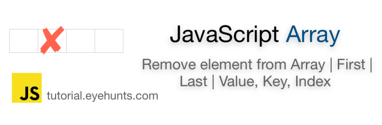 Remove element from Array JavaScript