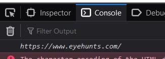 JavaScript URL to String