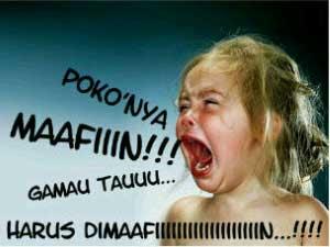 DP BBM Bulan Puasa Ramadhan minta maaf terbaru