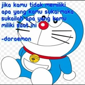 Kata Motivasi Gambar Doraemon Cikimm Com