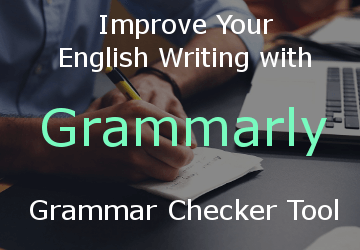 Grammarly English writing review