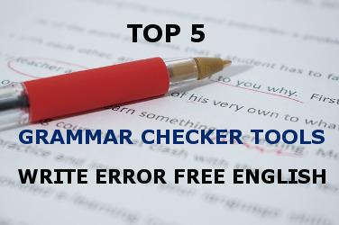 top 5 grammar checker tools