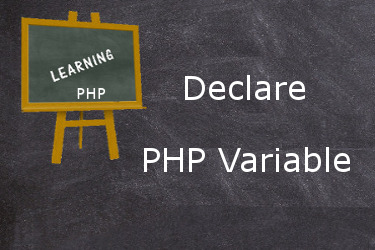 How to declare PHP variable