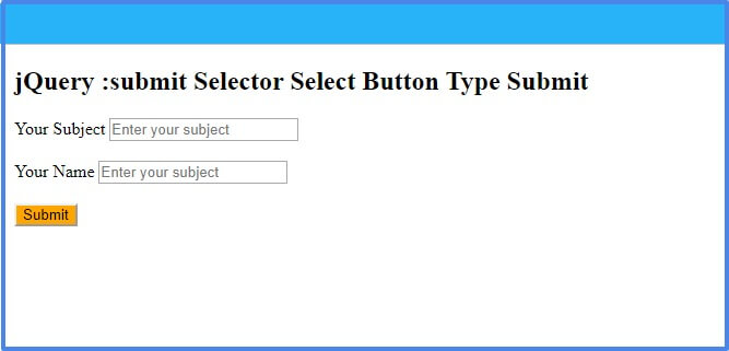 jquery-submit-selector