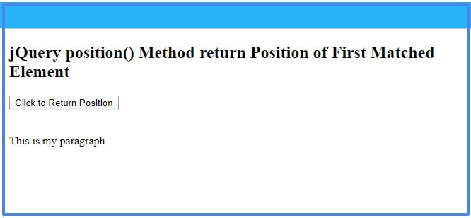 jquery-position-method