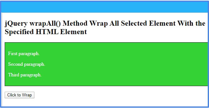 jquery-wrapall-method