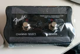 Pedal fender footswitch (unboxing)