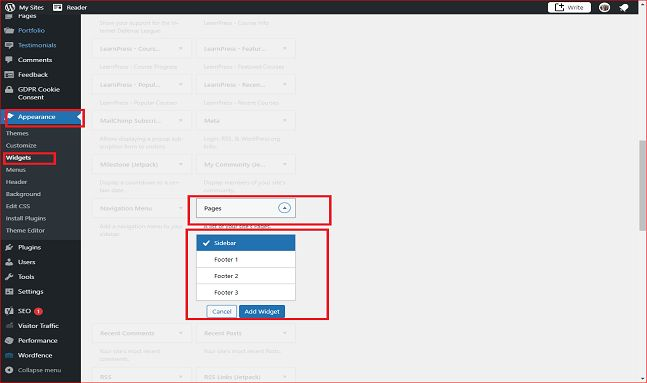 how to move post to page in wordpress