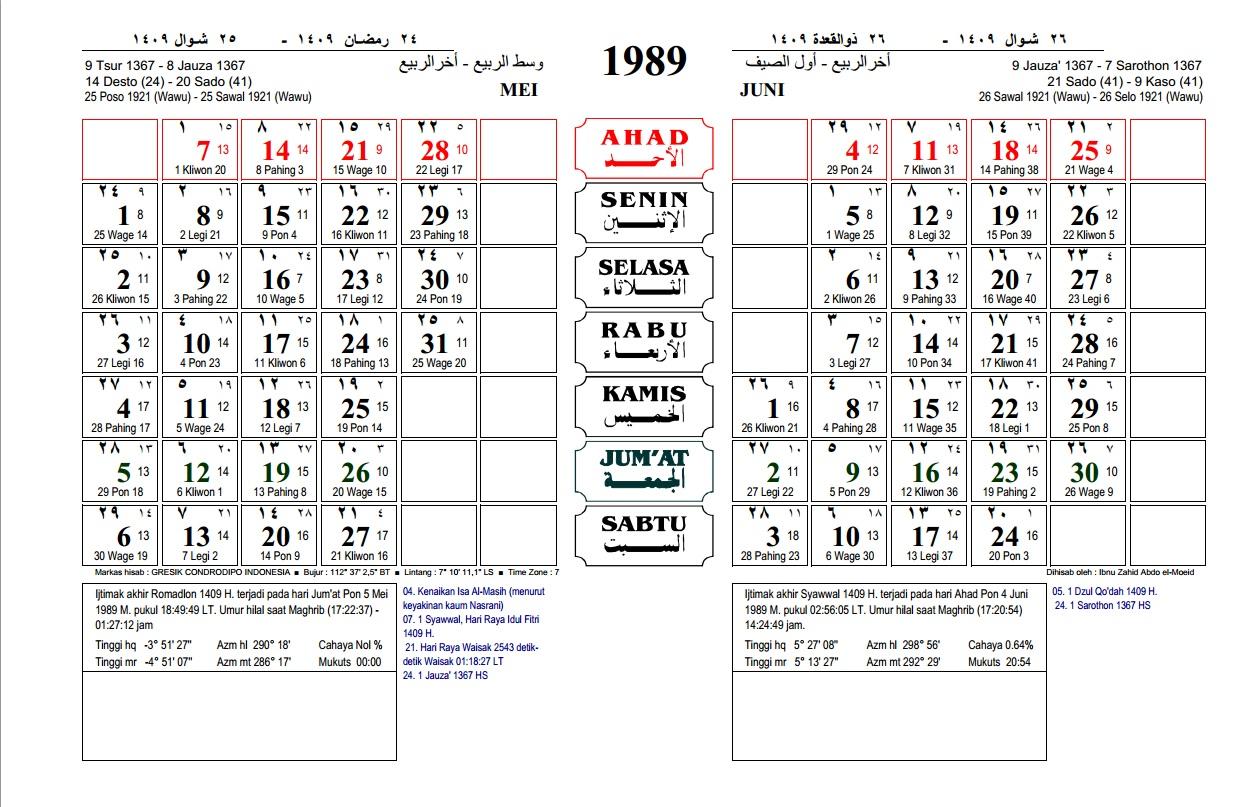 Download Gratis Kalender M Sampai M Tutorial Komputer Muno