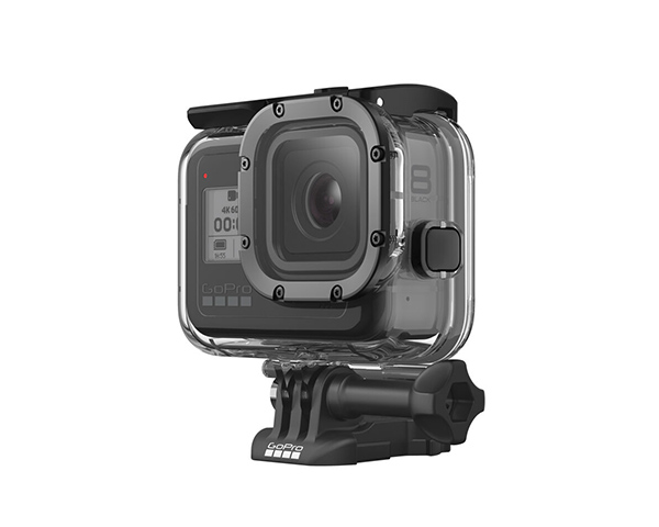 GoPro HERO8 dive housing for underwater video while scuba diving and freediving.