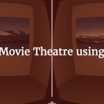 movie theatre in VR