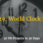 world clock in vr using momentjs in vr
