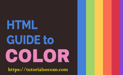 HTML Colors List