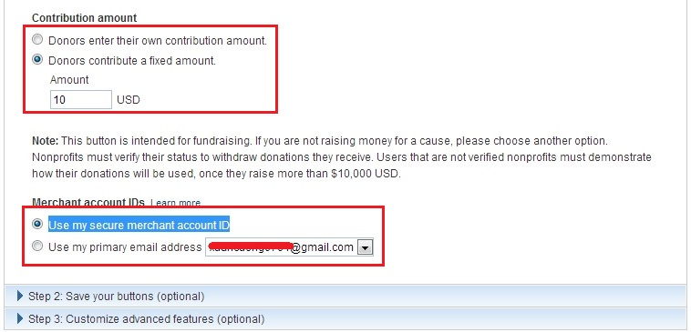 How To Create Donate Button In Paypal Free Online Tutorials