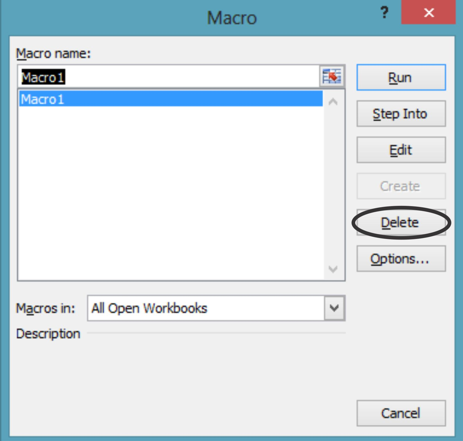 How To Edit And Delete Macros In Excel