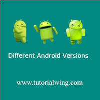 Android Version Names And Features - Tutorialwing