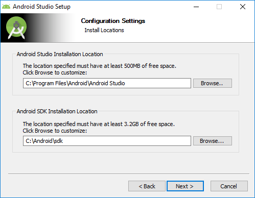 Tutorialwing - Android Studio Install Step-4