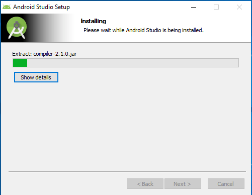 Tutorialwing - Android Studio Install Step-6