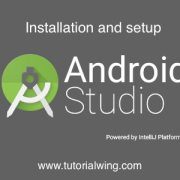 Tutorialwing - Android Studio Setup Logo