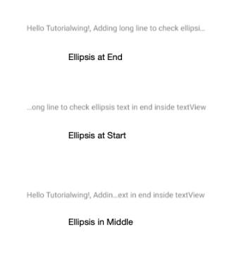Tutorialwing Android Kotlin TextView Set Ellipsis Text Dynamically Programmatically