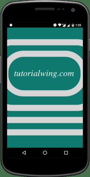 Tutorialwing Android Splash Screen Tutorial