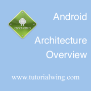Tutorialwing Android architecture logo