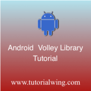 Tutorialwing Android Volley Library Logo