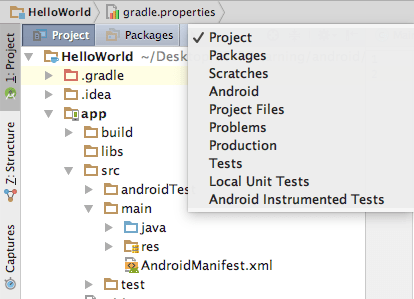 Android Project Structure Tutorial - Tutorialwing
