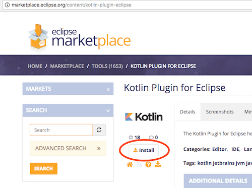 Tutorialwing Kotlin plugin download